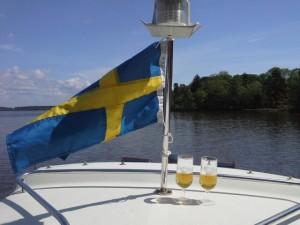 Västerås voyage tourisme Des promenades sur le lac Mälar sont proposées aux visiteurs sur un bateau privé