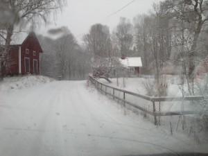 Abondantes chutes de neige dans la région de Vâsterås, 19 et 20 mars