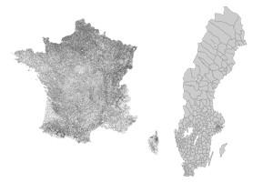 actualité politique 36 000 communes en France, 290 en Suède