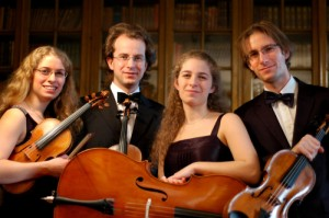 Actualités musique classique L'excellent quatuor à cordes Dahlkvistkvartetten a interprété à Västerås des oeuvres de compositeurs contemporains suédois et de J. Brahms