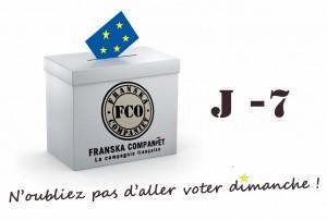 Actualités politiques La France et la Suède, comme les 26 autres Etats membres de l'Union européenne, s'apprêtent à voter pour les élections européennes