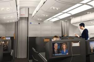 Actualités économiques voyages SAS a dévoilé les nouveaux aménagements des cabines de ses avions