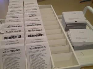 Actualités politiques 25 mai 2014 Elections européennes 46 millions d'électeurs français voteront pour le 75 députés européens français tandis que 7 millions de Suédois voteront pour les 20 députés suédois du Parlement européen
