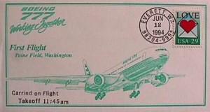 Actualités voyages 1er vol du Boeing 777 il y a 20 ans, le 12 juin 1994