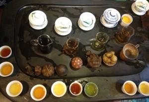 Actualités voyage tourisme gastronomie Dégustation de thés, une pratique très proche de la dégustation des vins
