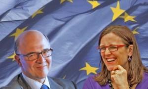 France Suède actualités UE France et Suède ont de bonnes raisons de la nomination de Pierre Moscovici et Cecilia Malmström à des postes clés de la Commission européenne