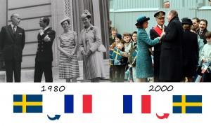 La dernière visite royale en France remonte en 1980 et celle d'un président français en Suède en 2000