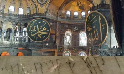 Vikingaspår under Hagia Sofias kupol i Istanbul